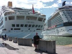 The M/V Oriana