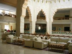 lobby in reception area