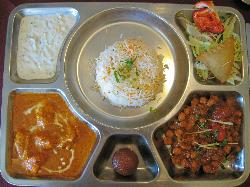Delicious Lunch Thali