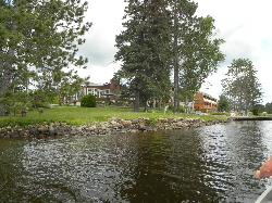 View of Resort from Canoe