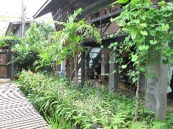 villa 1, view from villa 3