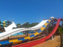 Death defying slides....haha