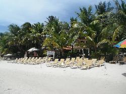 Beach at hotel