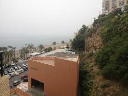 cliffside/partial ocean view