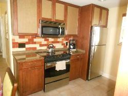 Half of Smaller kitchen 3br