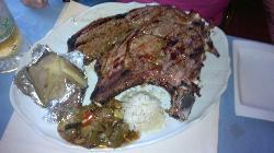 t-bone steak at the el pacino