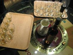 Shaking our senses at the whisky distillery