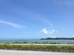 海中道路 ロードパークからの眺め