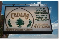 Cedars Middle Eastern Cuisine
