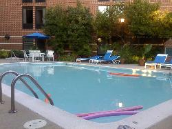 View poolside - very inviting