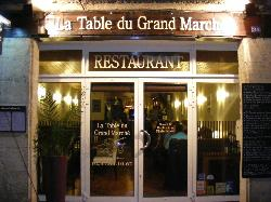 La Table du Grand Marche
