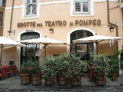 Grotte del Teatro di Pompeo