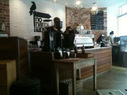 Great coffee from the Synesso and Black Sheep beans.