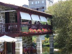 The restaurant´s balcony.