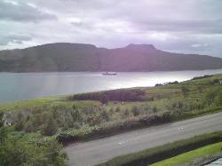 Loch Broom, from bedroom window.