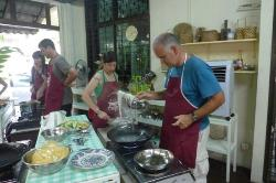 Vegetarian Voyages from all over Europe, Australia and USA cooking in Penang