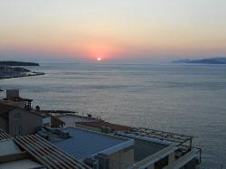 Sunrise from Hotel