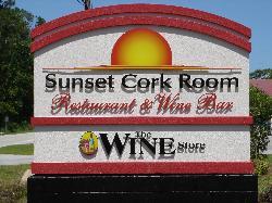 Sunset Cork Room