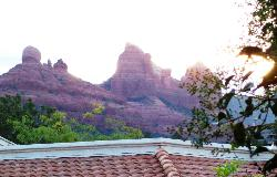 """View from """"O"""" Building #267 of the Red Rocks of Sedona"""