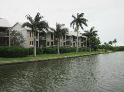 View from marina across to Marina Villa Building 600