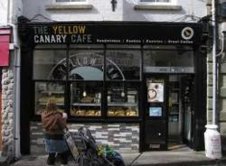 wether you want a hot, sit down meal or coffee to go, the yellow canary is the place!