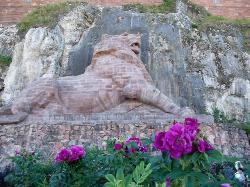Citadelle de Belfort et Lion de Belfort