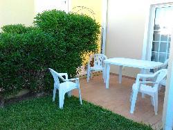 Jardin privado de la villa
