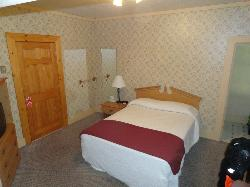 Room A, above the front desk