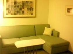Artwork in room sitting area