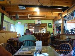 another view from inside the restaurant