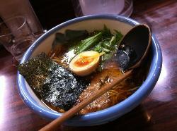 柚子醤油ラーメン