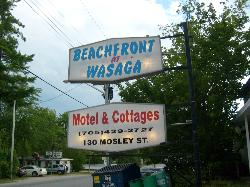 Beachfront at Wasaga