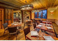 The Rustic Lounge at Cedar Glen Lodge