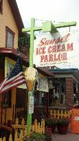 Sunset Ice Cream Parlor