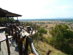 Mbalageti Safari Camp restaurant