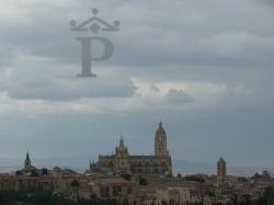 parador de Segovia ( vue du restaurant )