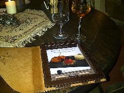 The menu comes on an iPad :)