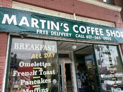 Martin's Coffee Shop