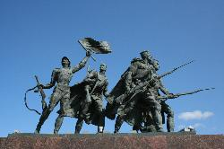 Monument To Heroic Defenders of Leningrad