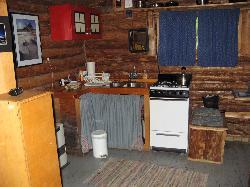 Wolverine kitchen area