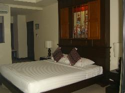 One of the rooms at Horizon Village Resort