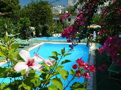 piscina fiorita