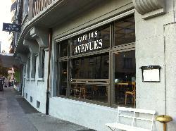 Cafe des Avenues
