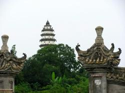 Langzhong White Tower