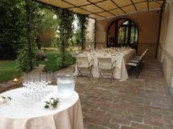 cena a villa Collepere