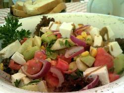 Greek Salad At Stella