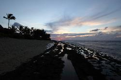 Kepuhi Point near twilight