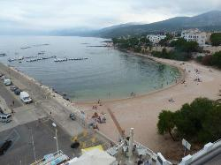 vue de la terrasse du bue marino, cala gonone