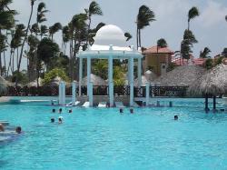 Pool at main hotel