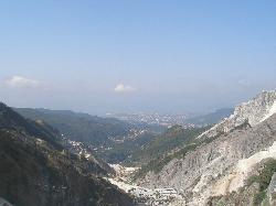Carrara dall'alto